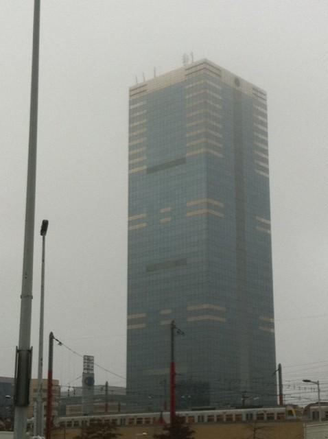 La tour du Midi, la plus haute de Bruxelles