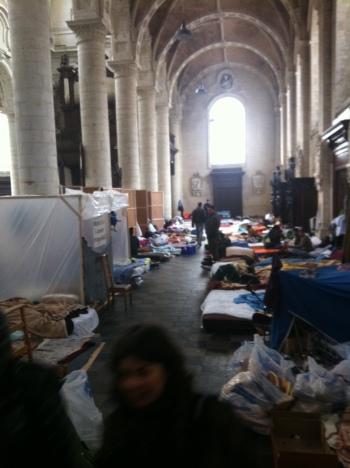 L'église du Béguinage - 30 novembre