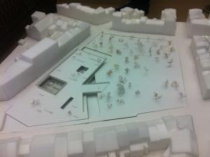 Le projet pour la place Janson